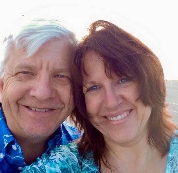 Sheri Bebbington and her husband, Philip. Courtesy photo